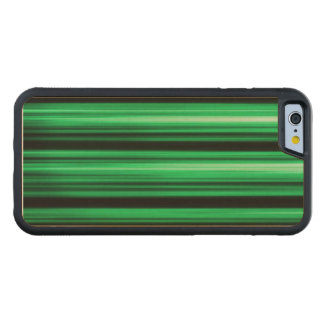 Green Abstract Carved® Maple iPhone 6 Bumper Case