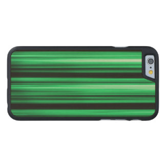 Green Abstract Carved® Maple iPhone 6 Case