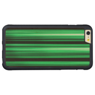 Green Abstract Carved® Maple iPhone 6 Plus Bumper