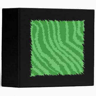 Green Abstract Design. Binder