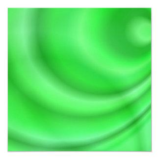 Green abstract design card