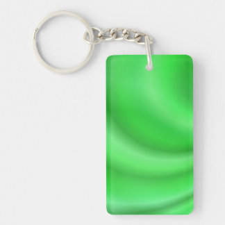 Green abstract design keychain