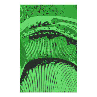 Green Abstract. Flyer