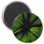 Green abstract fractal magnets