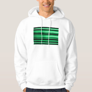Green Abstract Hoody