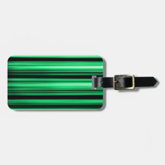 Green Abstract Tag For Luggage