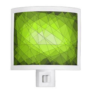 Green Abstract Night Light