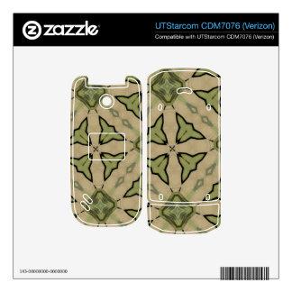 Green Abstract patter Skin For UTStarcom Phone