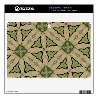 Green Abstract patter BlackBerry Decal