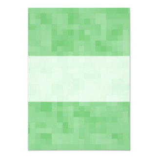 Green Abstract Pattern. 5x7 Paper Invitation Card