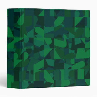 Green Abstract Pattern. Binder
