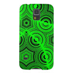 Green Abstract Pattern Case For Galaxy S5