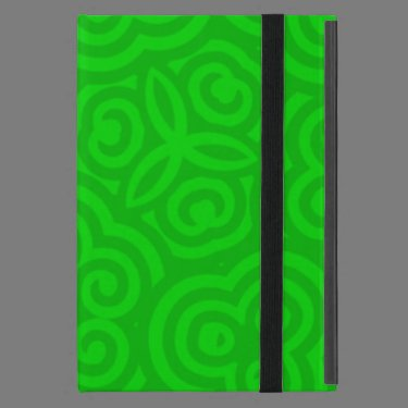 Green Abstract Pattern Case For iPad Mini