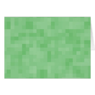 Green Abstract Pattern. Greeting Card