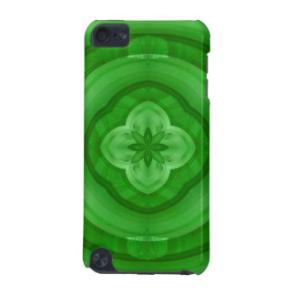Green abstract pattern iPod touch (5th generation) cover