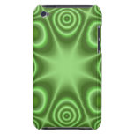 Green Abstract Pattern iPod Touch Covers