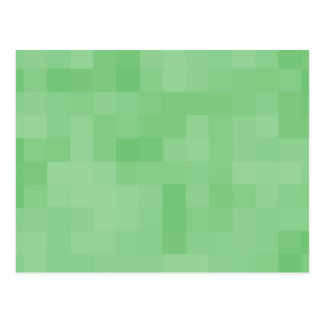 Green Abstract Pattern. Postcard
