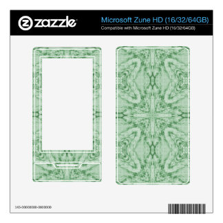 Green Abstract Pattern Skins For The Zune HD