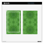 Green abstract pattern skin for kindle fire