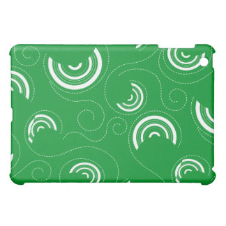 Green Abstract Pern  iPad Mini Case