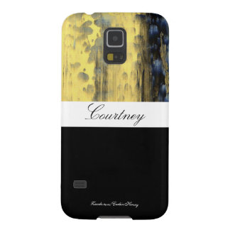 Green Abstract Personalized Samsung S5 case