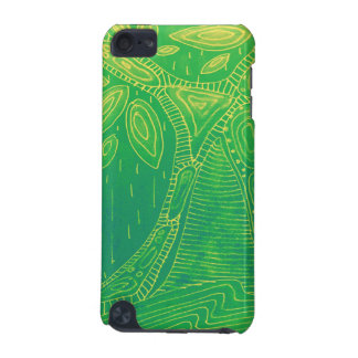 Green Abstract Tree Digital Art iPod Touch 5G Cover