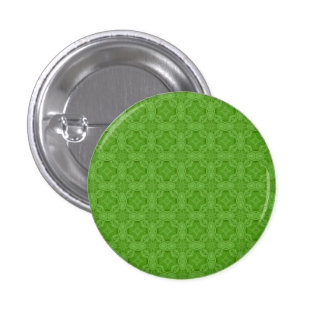 Green abstract wood pattern 1 inch round button