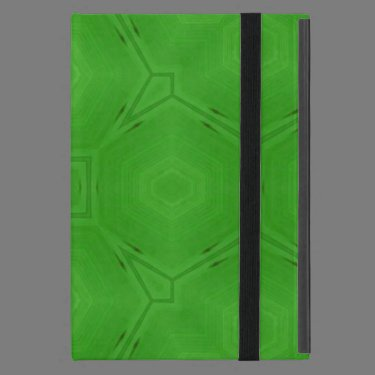 Green abstract wood Pattern Cover For iPad Mini