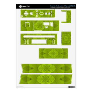 Green abstract wood pattern.jpg skin for the wii