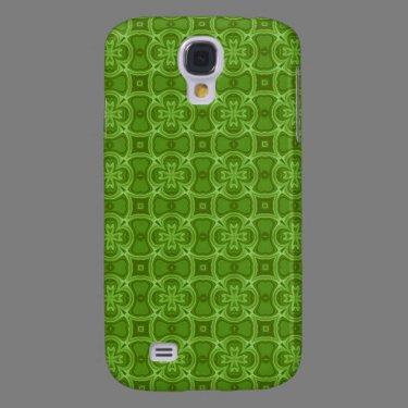 Green abstract wood pern.jpg samsung galaxy s4 cases
