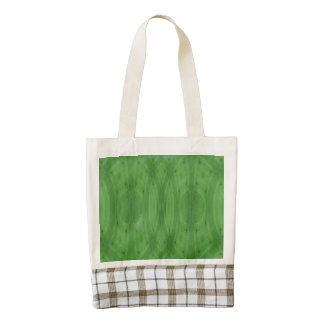 Green abstract wood zazzle HEART tote bag