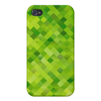green abstraction iPhone 4/4S cover