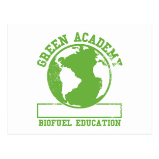 Green Academy Biofuel Postcard