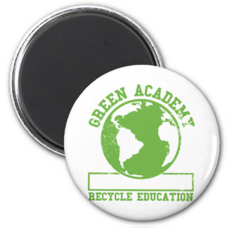 Green Academy Recycle Refrigerator Magnets