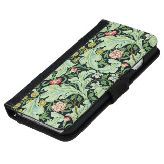 Green Acanthus iPhone 6/6S Wallet Case iPhone 6 Wallet Case