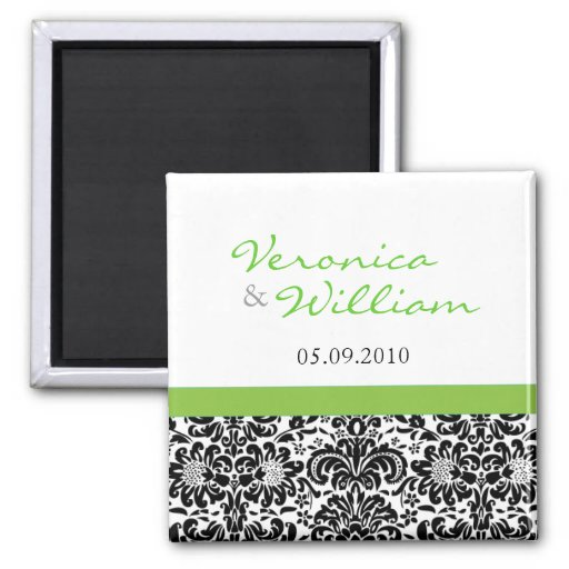 damask accents in green - photo #29