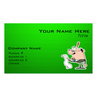 Green Accountant Business Card
