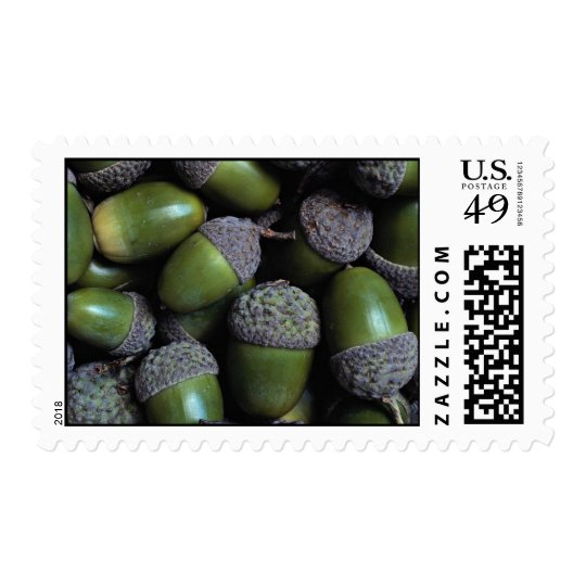Green Acorn nuts Postage