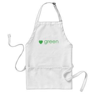 Green Adult Apron