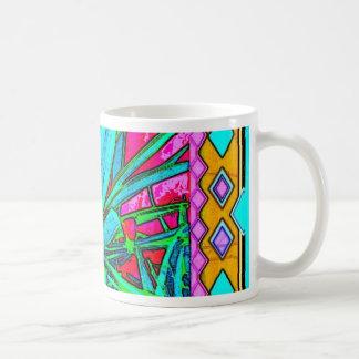 Green Agave pink Art Gifts by Sharles Coffee Mug