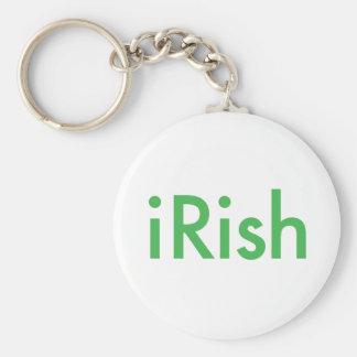 Green.ai irlandés llavero redondo tipo pin