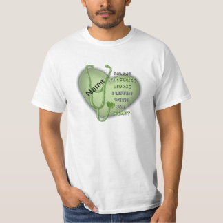 Green Air Force Nurse T-Shirt