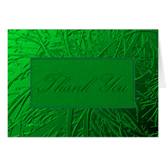 Green Air Plant Relief Stationery Note Card