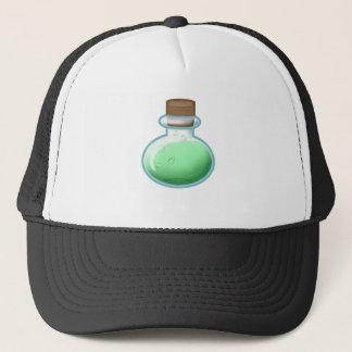 Green Alchemy Bottle Trucker Hat