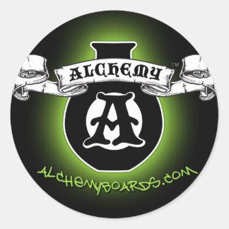 Green Alchemy Sticker