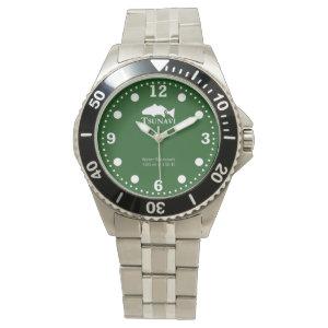 Green algae dive watch