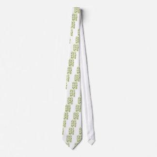 Green Algae Neck Tie