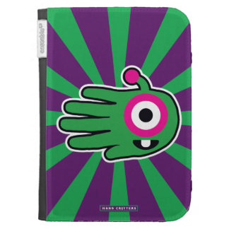 Green Alien Baby Tooth Kindle Cover