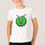 green, alien, bee, happy, funny, head, smile,