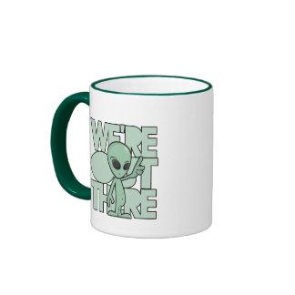 Green Alien Coffee Mug